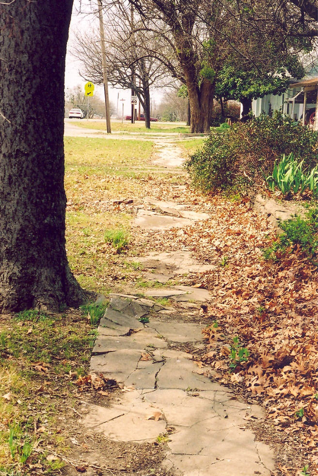 Sidewalkdbefore