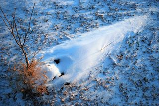Alien snowdrift