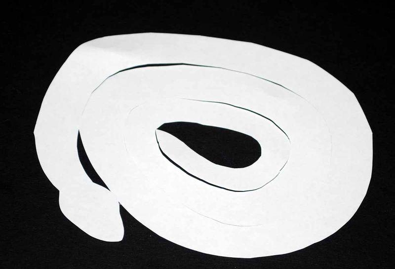 Papercuts snake