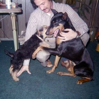 Garywith dogs