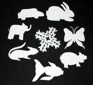Papercuts shapes
