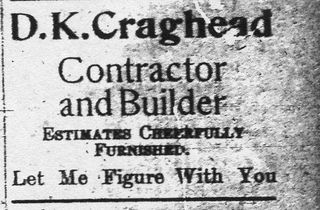 Craghead ad