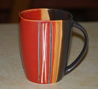 Fall coffee cup