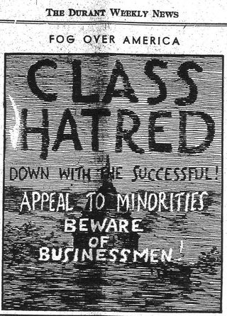 Class hatred ad
