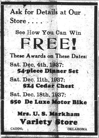 Markham ad