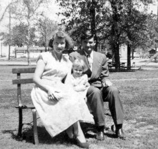 With parents park