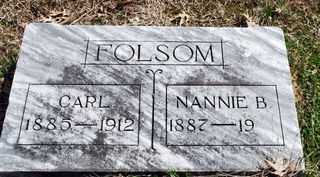 Folsom,NannieCarl