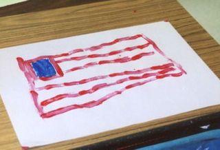 Flagpainting