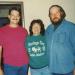 John, Mary, David at Mom's.