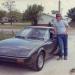 John with car.