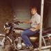 John with bike