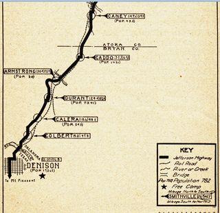 JH Tourist Guide 1922- Bryan Co, OK