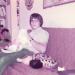 John with cat.