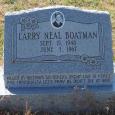 Boatman  LarryNeil