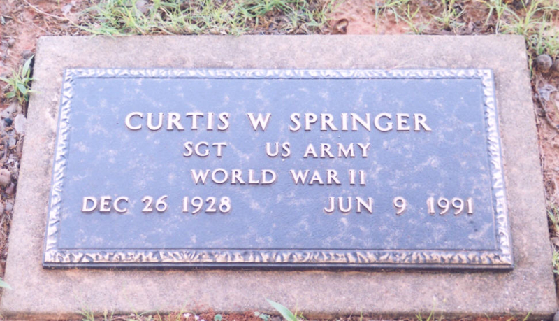 Springer Curtis mil