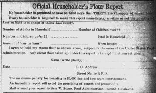 Flour report