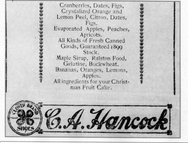 Fruitcake recipe1899