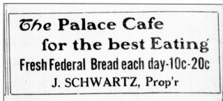 Palace cafe1922