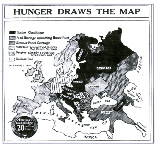 Hunger map1918