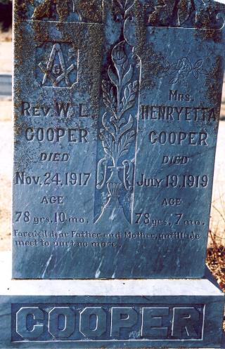 Cooper  WL