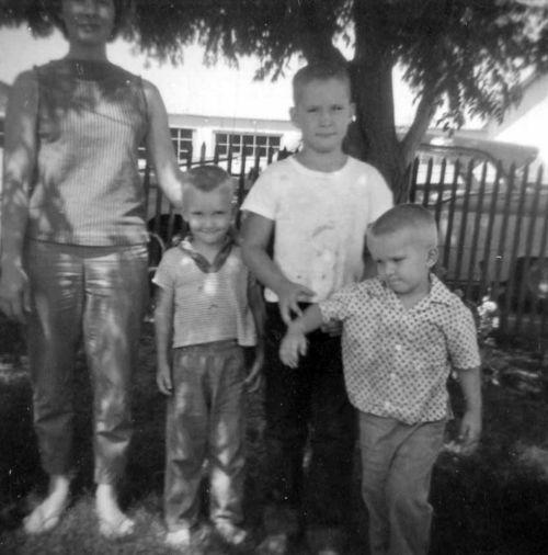 Colleen, Dan, David, Jim, 1962