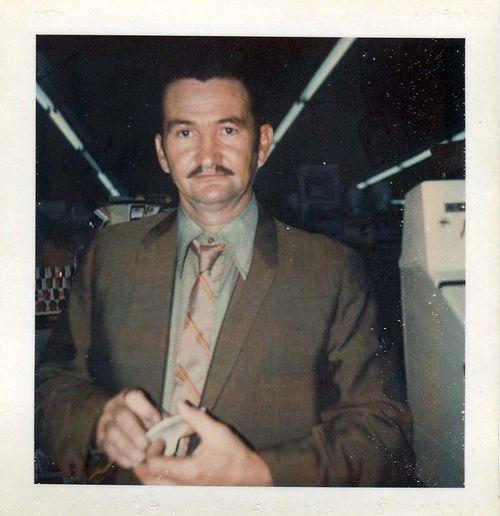 Bob with mustache.