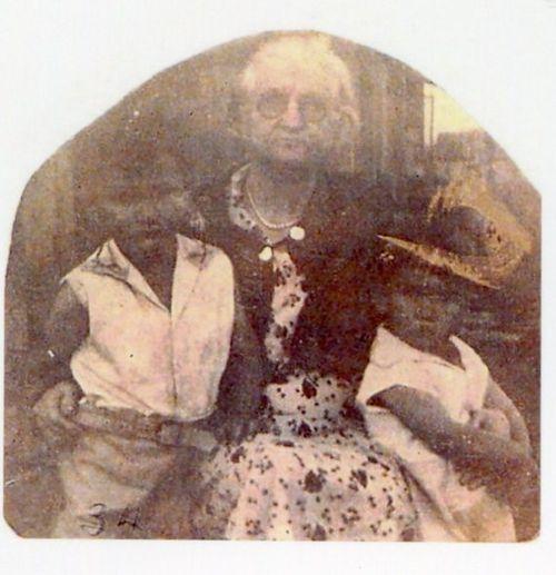 Bob and Don with Grandma Carlton