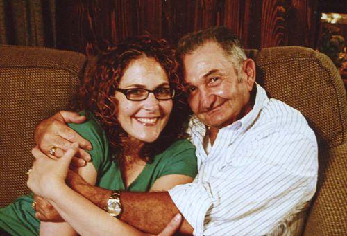 Katrina Simeck with Bob Simmons