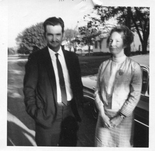 Bob and Colleen, 1969.