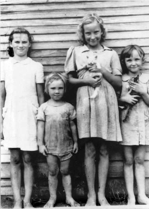 Friend, Betty, Colleen, Juanita Springer