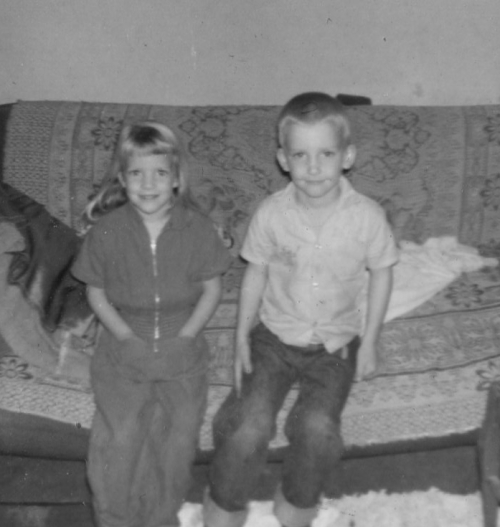 Friend, Anna, and Dan 1962.