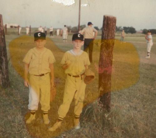 Boys baseball, 1968