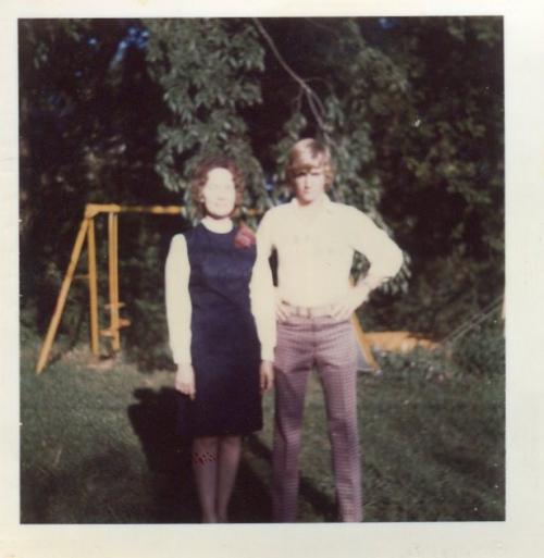 Mom and Dan.