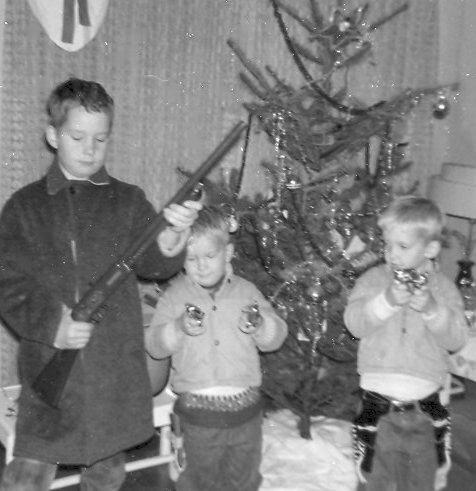 Christmas, Highway City, CA, 1962.