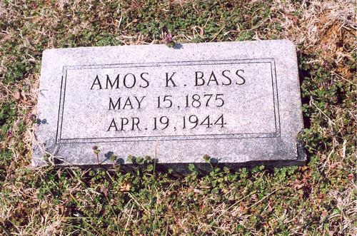 Amos K. Bass