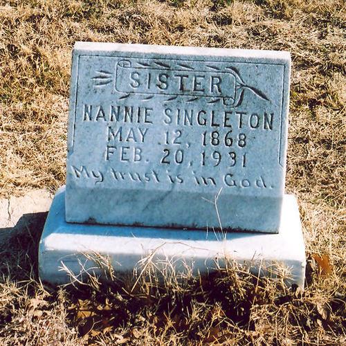 Nannie Singleton
