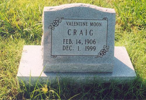 Valentine Moon Craig
