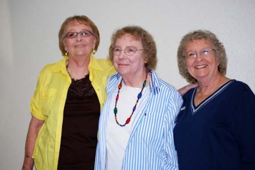 Carolyn, Betty, Juanita 2